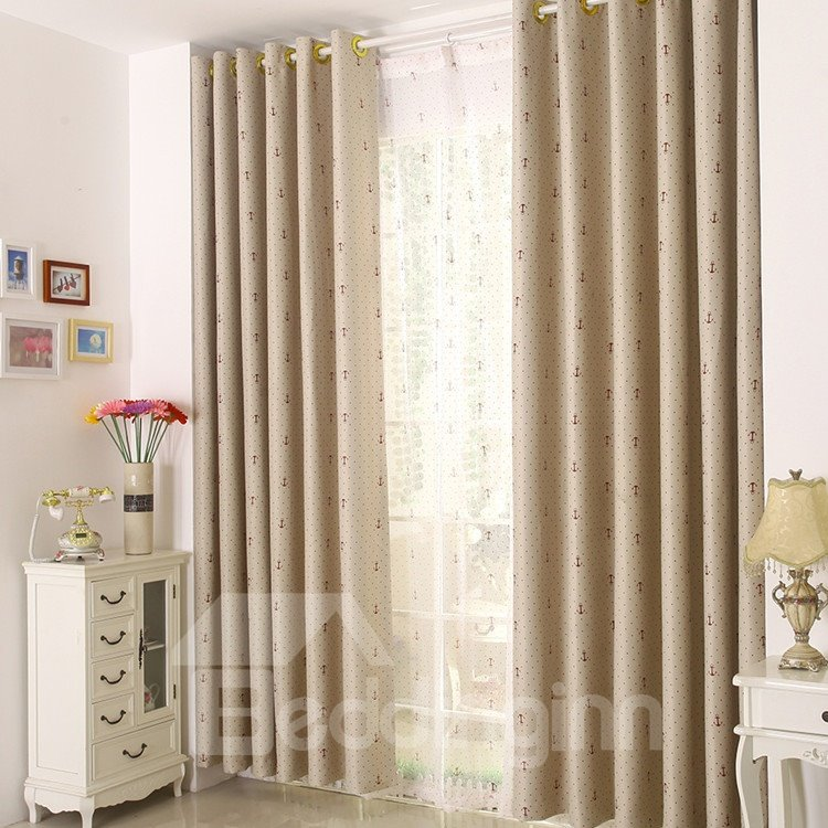 High Quality Amazing Patterns Gromment Top Custom Curtain