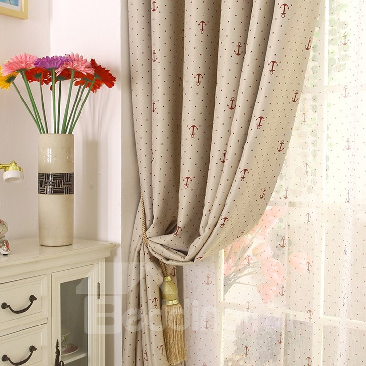 Amazing Patterns Grommet Top Custom Curtain