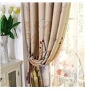 High Quality Amazing Cartoon Animal Patterns Gromment Top Custom Curtain