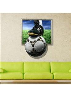 New Arrival Glamorous 3D Football Wall Sticker