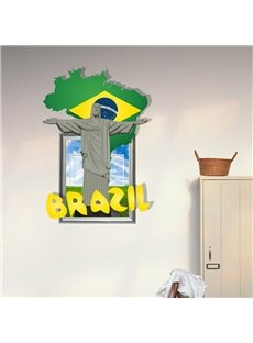 New Arrival Elegant 3D Jesus Wall Sticker