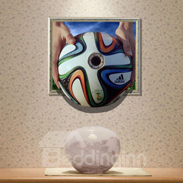 New Arrival Elegant 3D Penalty Kick Wall Sticker