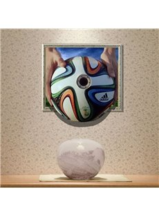 New Arrival Elegant 3D Penalty Kick Wall Sticker