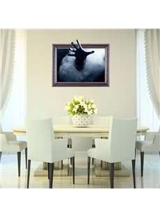 New Arrival Amazing 3D Outstretched Hand Wall Sticker
