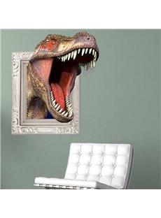 New Arrival Stunning 3D Tyrannosaurus Rex Wall Clock