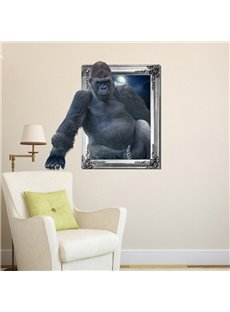 New Arrival Amazing 3D Orangutan Wall Sticker
