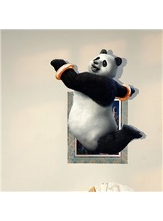 Lovely Cute Panda Pattern Home Decorative 3D Wall Stickers