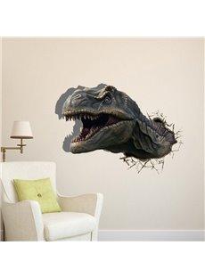 New Arrival Amazing Creative 3D Dinasaur Wall Sticker
