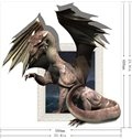 New Arrival Amazing 3D Pterosaur Wall Sticker