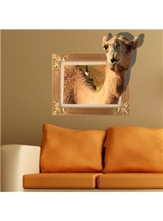 New Arrival Elegant 3D Camel Wall Sticker