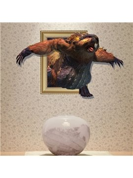 Elegant Creative 3D Guinea Pig Wall Sticker