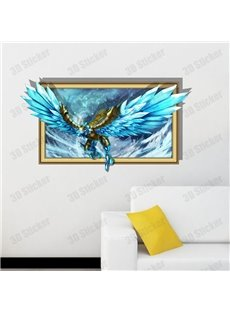 Elegant Style Creative 3D Eagle Wall Sticker