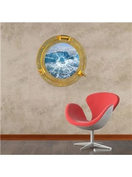Amazing Beautiful 3D Ark Window Wall Sticker
