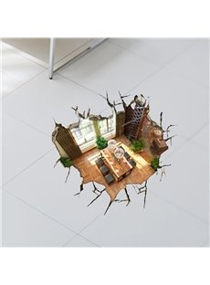 Amazing Style Creative 3D Basement Wall Sticker