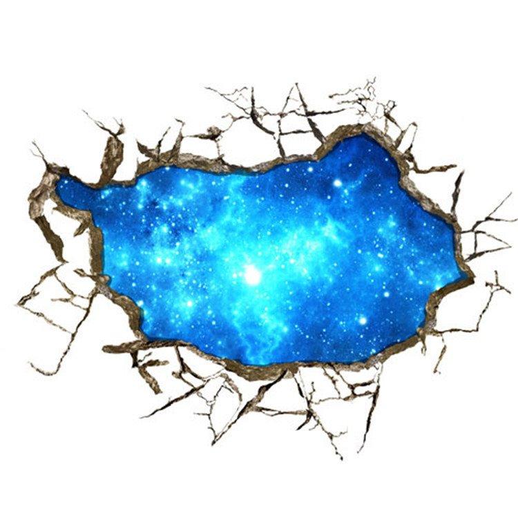 Stunning Creative 3D Starry Sky Wall Sticker