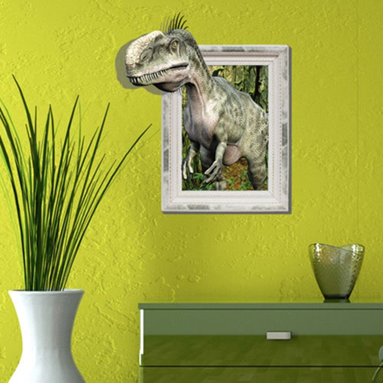 Sunning Stylish 3D Dinosaur Wall Sticker