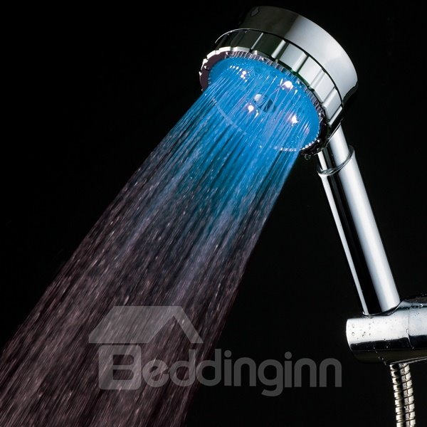 Fancy LED Shower Head Many Colors Changing by Temperature