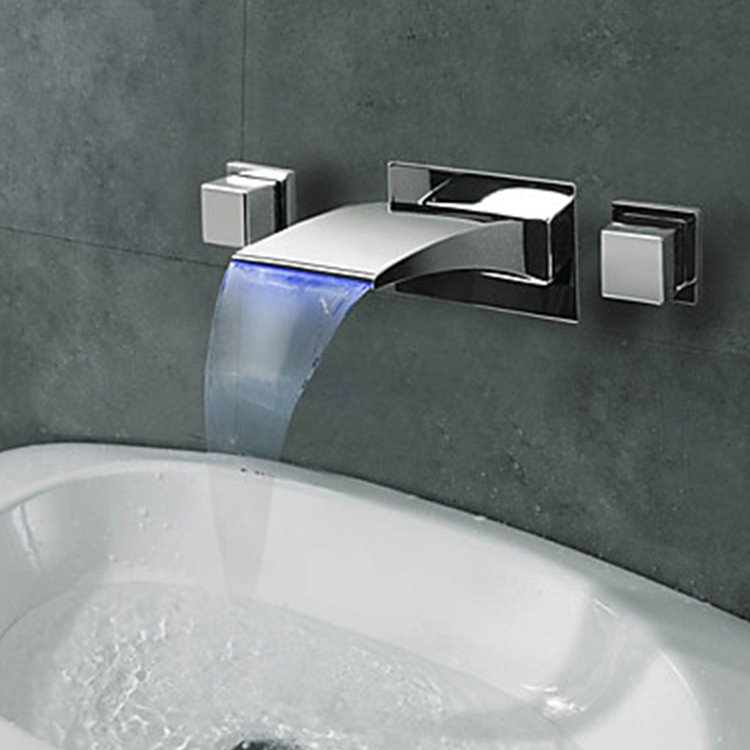Triple Sink Faucet : Home > Home Decor > Faucets > Bathroom Sink Faucets