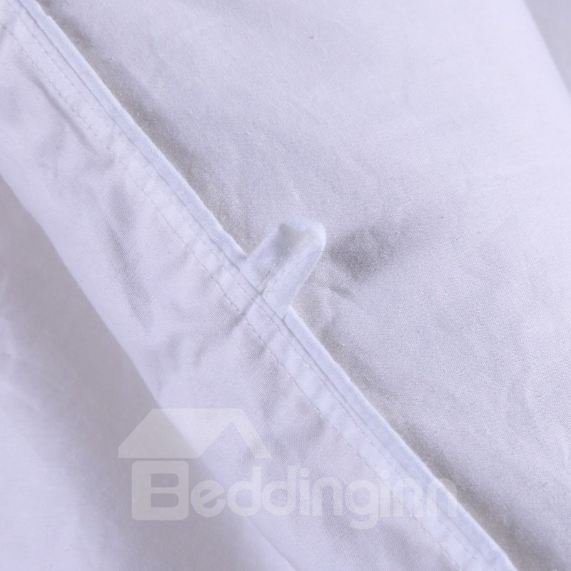 High Quality Fancy Pure White Quilt