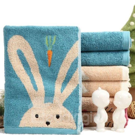 High Quality Splendid Lovely Bunny Print Towel