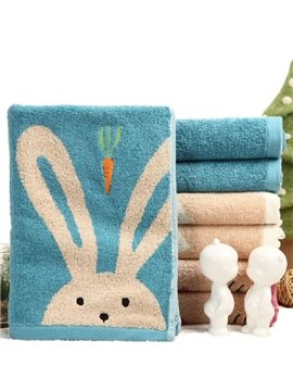 High Quality Splendid Lovely Bunny Print Towel