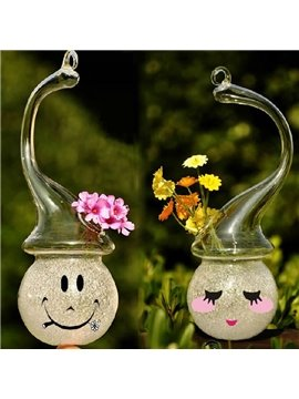 Amazing Creative DIY Snowman Design Glass Flower Vase