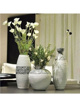Alluring Modern Simple Style Sunflowers Design Three-piece Flower Vases
