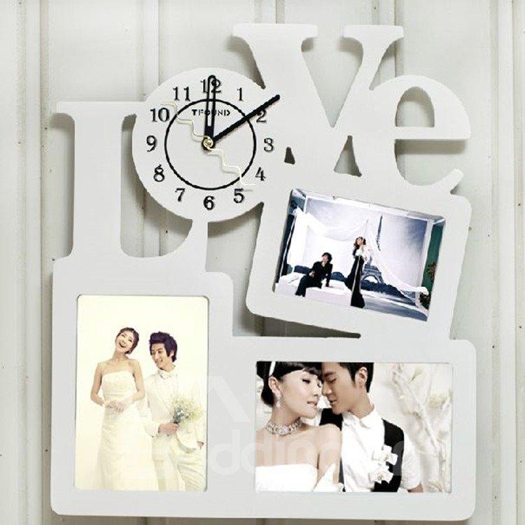 Modern Amazing Creative Photo Frames Design Wall Clock