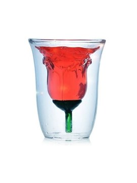 New Arrival Amazing Creative Rose Glass