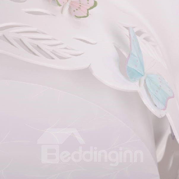 Moden Simple Style Beautiful Butterflies Design Flush Mount