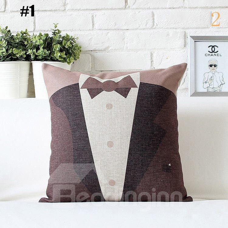 High Quality Fancy Wedding Dress Print Pillowcase