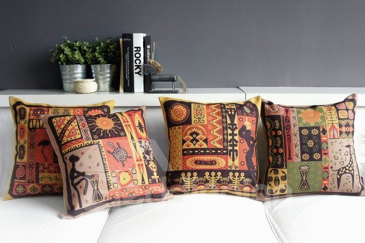 High Quality Southeast Aasia Pattern Pillowcase