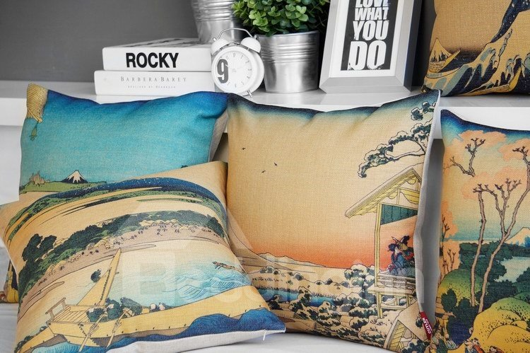 Fantastic Beautiful Scenery Print Pillowcase