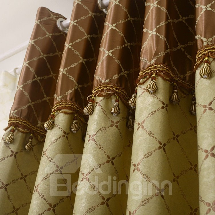 Amazing Charming Patterns Grommet Top Two-piece Custom Curtains