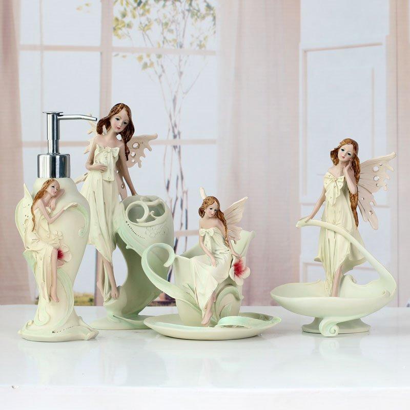 High Quality Angel Style European Creative Bathroom Accessories