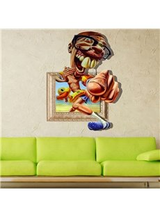 New Arrival Stunning 3D Cartoon Wall Sticker