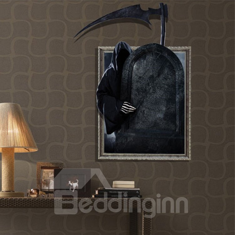 Stunning Horrible Creative Patterns 3D Wall Sticker