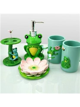 High Quality Fancy Frog Shape Bathroom Accessories