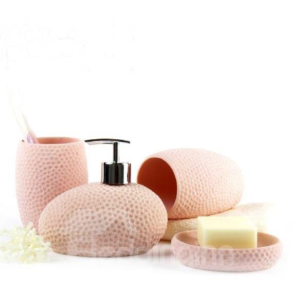 High Quality Fantastic Coralline Pattern Bathroom Accessories
