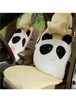 High Quality Cartoon Lovely Panda Pattern Car Seat Cover