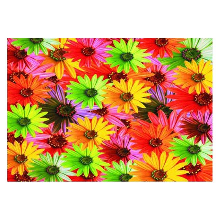 Pretty Colorful Flowers Pattern Non-slip Doormat
