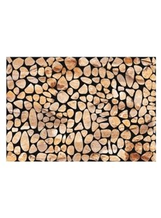 Simple Style Alluring Stones Pattern Non-slip Flocking Doormat