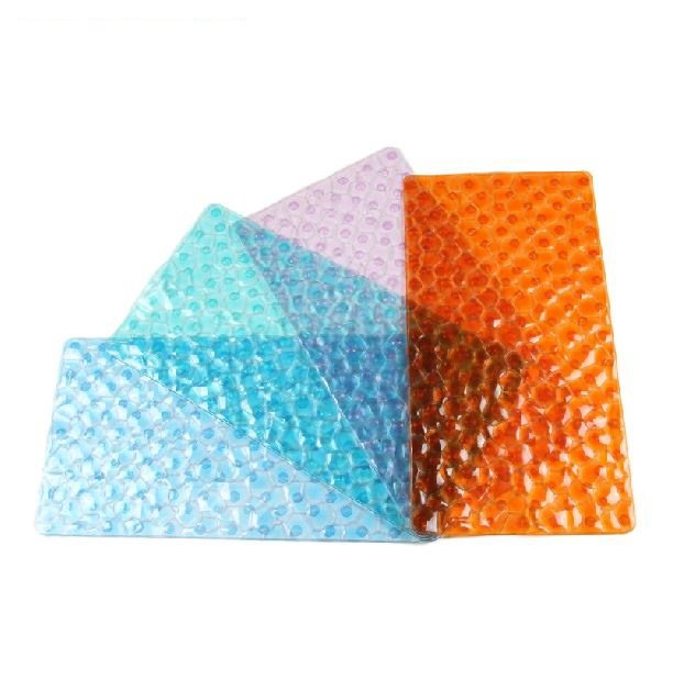 New Arrival Elegant Water Cube Design Non-slip Bath Rug