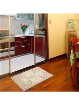High Quality Elegant Floral Patterns Water Absorption Non-slip Doormat