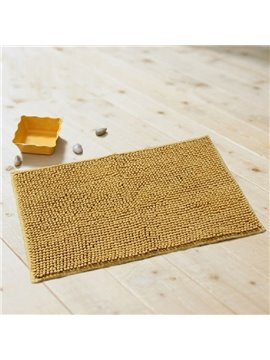 Amazing Super Soft Water Absorption Non-slip Chenille Material Mat