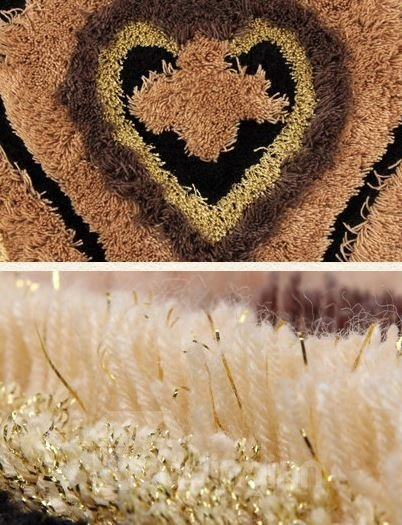 Beautiful Patterns Super Soft Water Absorption Non-slip Area Rug