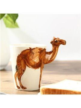 Amazing Creative Camel Design Ceramic Hand Painting Cup