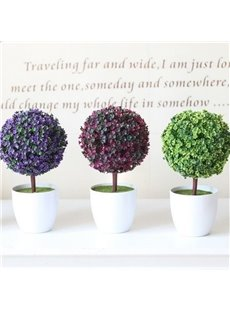 Elegant Creative Beautiful Little Tree Plant Aritifical Ornament