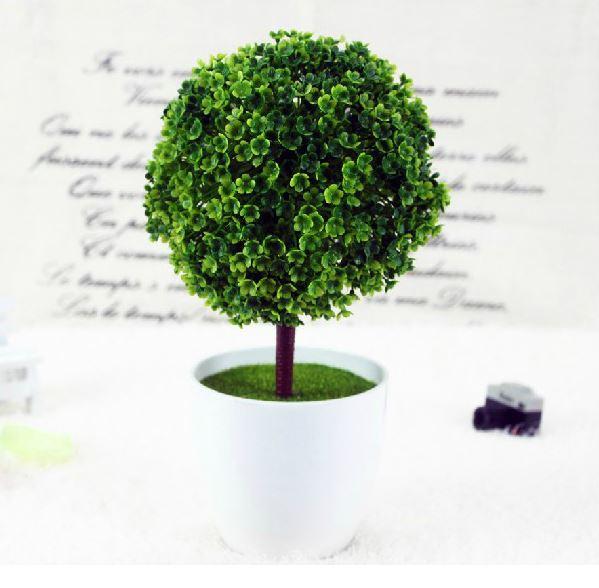 Elegant Creative Beautiful Little Tree Plant Aritifical Ornament