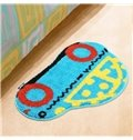 Amazing Lovely Cartoon Car Pattern Water Absorption Non-slip Mat